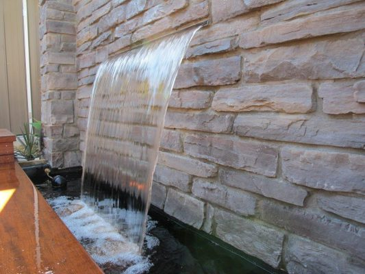 Projecting Effect Water Wall